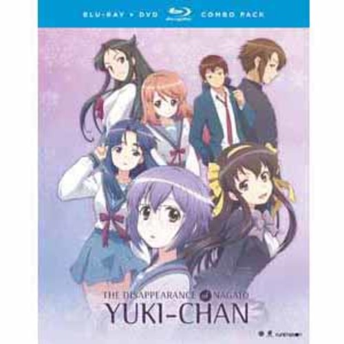 The Disappearance Of Nagato Yuki-Chan: The Complete Series [Blu-Ray] [DVD]