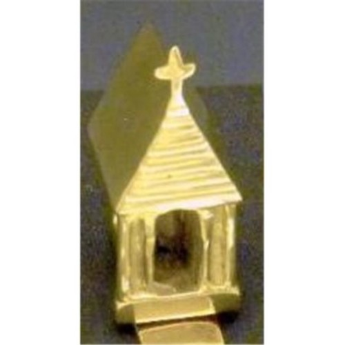 Mayer Mill Brass CRH-1 Church Stocking Hook