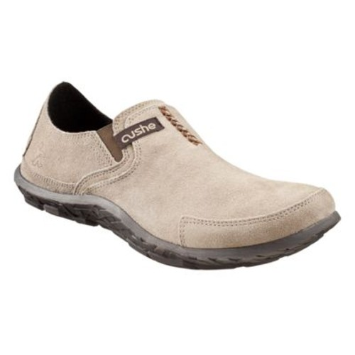 Cushe Suede Slip-On Shoes for Men - Taupe [width : Medium]
