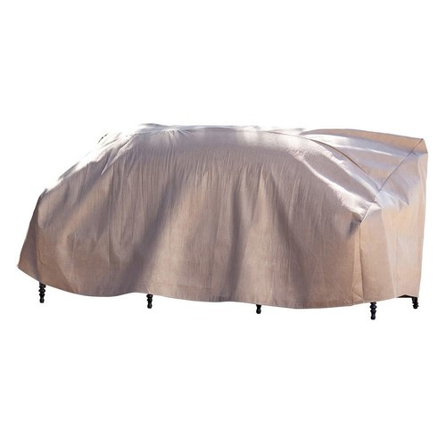 Duck Covers Elite 79 in. W Patio Sofa Cover with Inflatable Airbag to Prevent Pooling