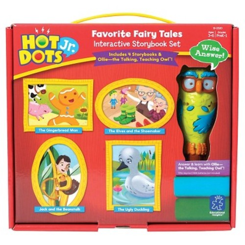 Hot Dots Jr. Favorite Fairy Tales Interactive