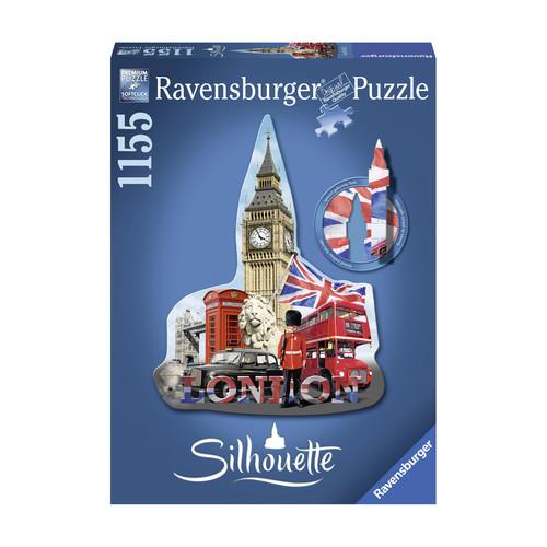Ravensburger Silhouette Shaped Puzzle - Big Ben, London: 1155 Pcs