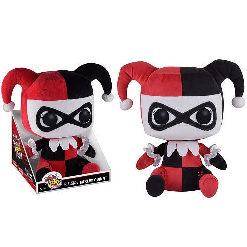 Funko Mega POP! Plush: DC Comics Super Heroes 16 inch Stuffed Figure - Harley Quinn