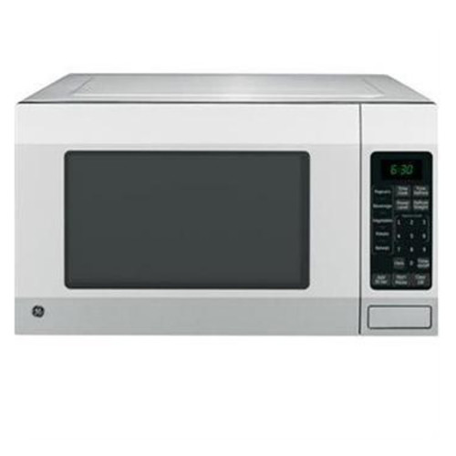 GE 1.6 Cu. Ft. Countertop Microwave - Stainless Steel