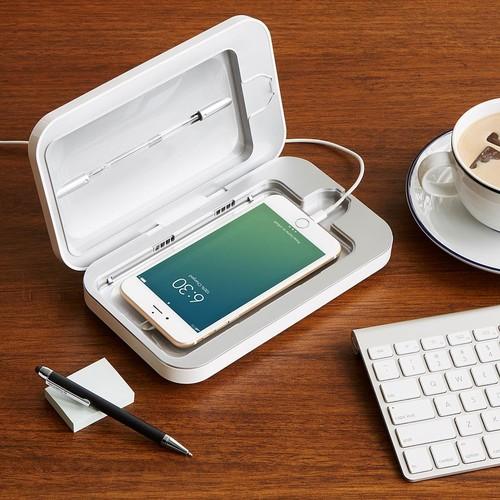 PhoneSoap Smartphone Sanitizer [Black]