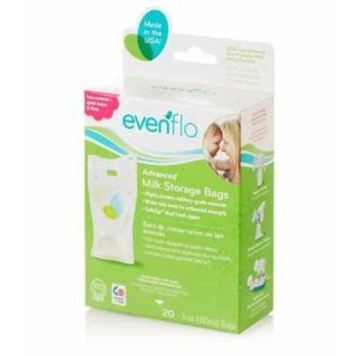 Evenflo Advanced Milk Storage Bags - 5 Ounce - 20 Count