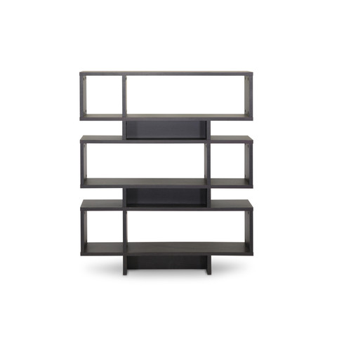 Baxton Studio Cassidy 6-Level Bookshelf - Espresso
