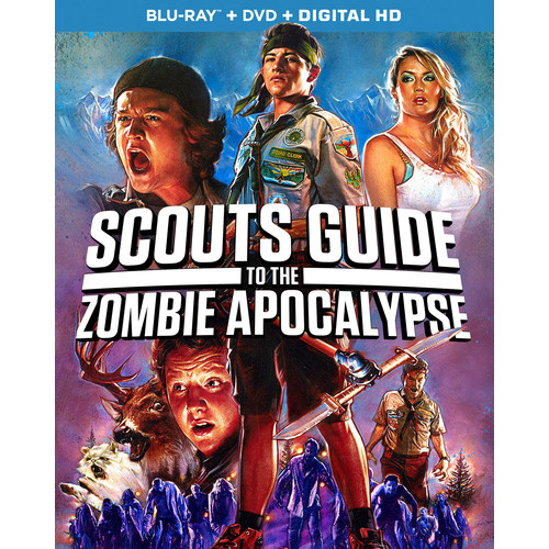 Scouts Guide to the Zombie Apocalypse [Blu-ray/DVD] [2015]
