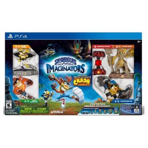 Skylanders Imaginators Starter Pack featuring Crash Bandicoot (PlayStation 4)