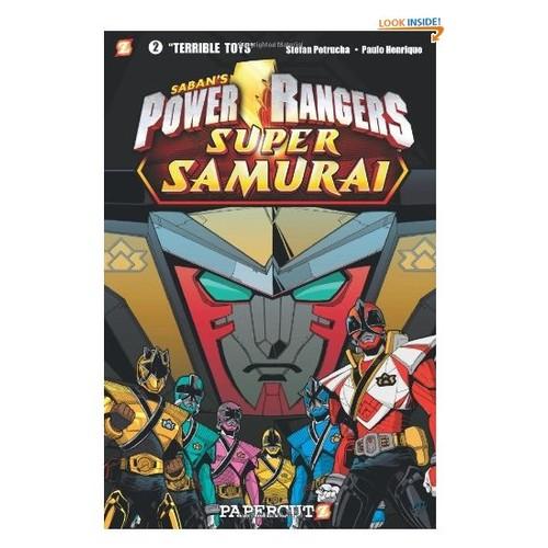 Power Rangers Super Samurai #2: Terrible Toys