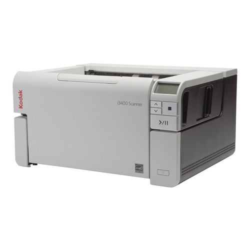 Kodak i3400 Sheetfed Scanner - 600 dpi Optical - 48-bit Color - 8-bit Grayscale - 80 - 80 - USB