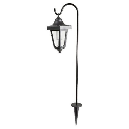 Pure Garden Solar LED Black Hanging Coach Lanterns (2-Pack)