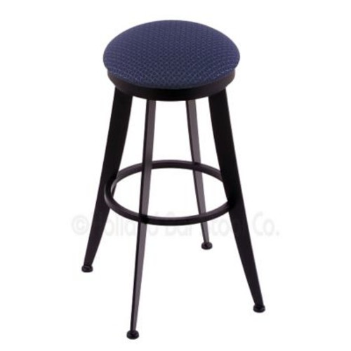 Holland Bar Stool Laser 25'' Swivel Bar Stool; Axis Denim