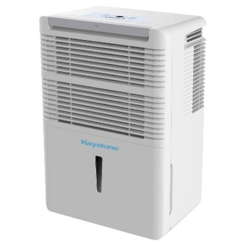 Keystone - Energy Star 30 Pint Dehumidifier - White
