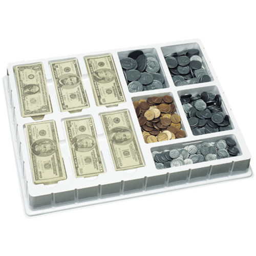 Learning Resources Play Money  Coins u0026 Bills Deluxe Set