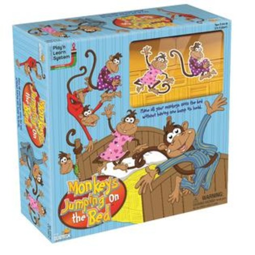 University Games Briarpatch Monkeys Jumping on the Bed Board Game