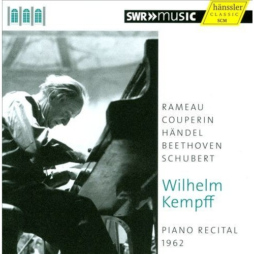 Piano Recital, 1962: Rameau, Couperin, Hndel, Beethoven, Schubert [CD]