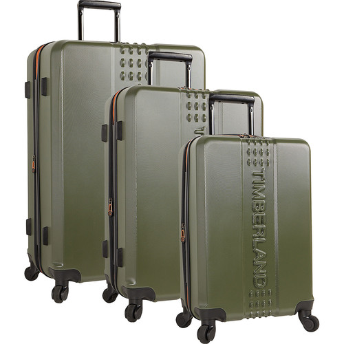 8823a09f5 Timberland Groveton 3 Piece Expandable Hardside Spinner Luggage Set - eBags  Exclusive