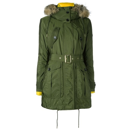 BURBERRY Hood Detail Parka Coat