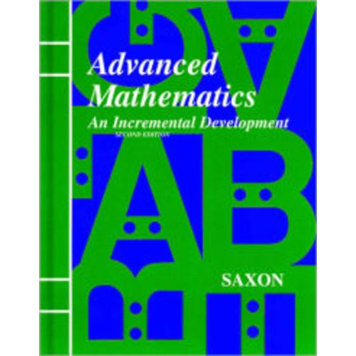 Saxon Advanced Math: Solutions Manual Second Edition 1997 / Edition 1