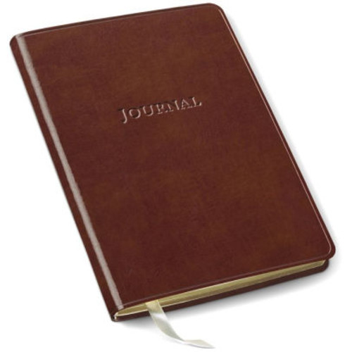 Tan Bonded Leather Journal 6