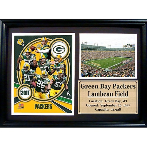 Green Bay Packers 2011 Photo Stat Frame
