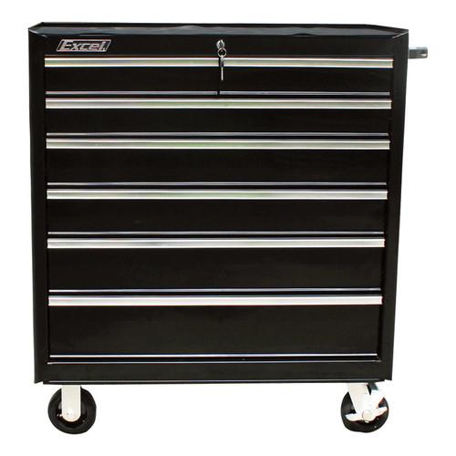 Excel 36in. Steel Tool Cabinet  Bottom Roller, Model# TB2608-X