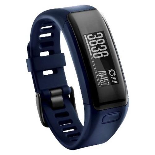 Garmin - Vivosmart HR Activity Tracker + Heart Rate - Blue