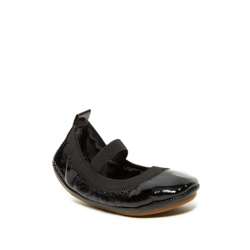 Patent Foldable Mary Jane Ballet Flat (Toddler)