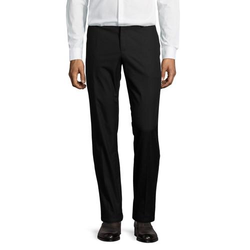 DOLCE & GABBANA Flat-Front Cotton Pants