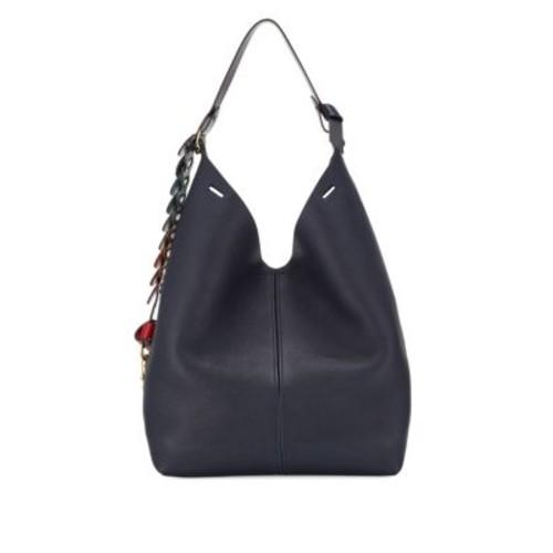 The Bucket Leather Hobo Bag