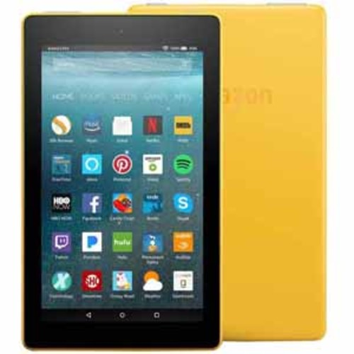 Amazon Fire 7 Display 8 GB Tablet with Alexa - Yellow