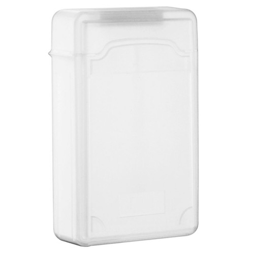 Insten SATA Hard Drive Plastic Storage Case, Clear
