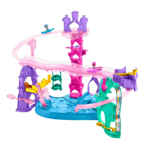 Nickelodeon Shimmer and Shine Teenie Genies Magic Carpet Adventure at Zahramay Falls Playset