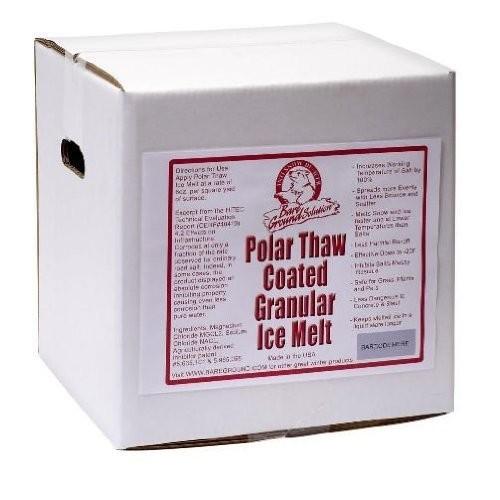 Bareground BGCSBX-40 Box of Coated Granular Ice Melt - 40 Lb.