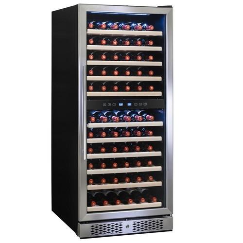 AKDY 23.5 in. 116-Bottle Built-in Compressor Wine Cooler