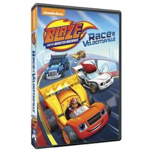 Nickelodeon Blaze and the Monster Machines: Race Into Velocityville DVD