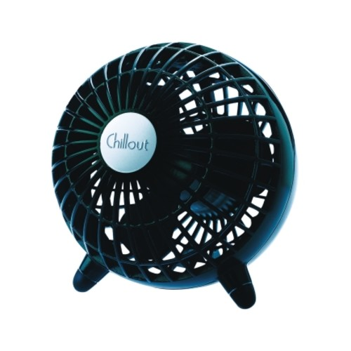 Kaz 6.1in Table Fan in Black (GF3B)