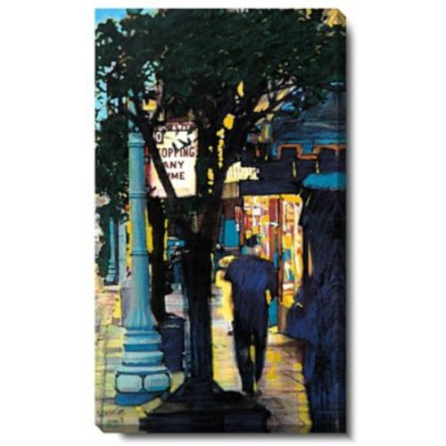 Studio Works Modern ''Evening Walk'' by Zhee Singer Graphic Art on Wrapped Canvas