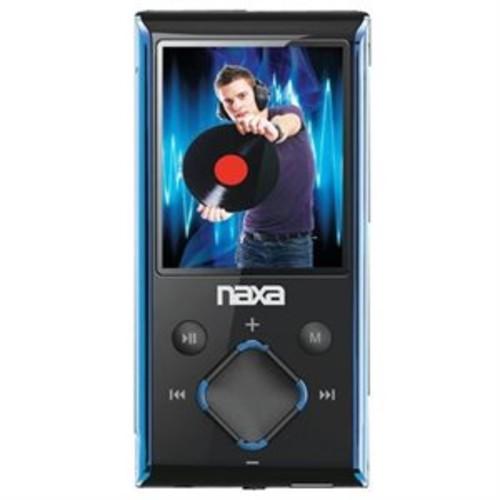 NAXA NMV173BL 4GB MEDIA PLAYER WITH 1.8