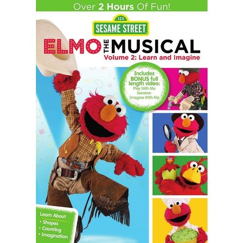 Sesame Street: Elmo the Musical, Vol. 2: Learn and Imagine [DVD]