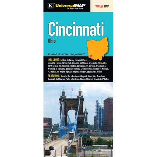 Cincinnati Fold Map