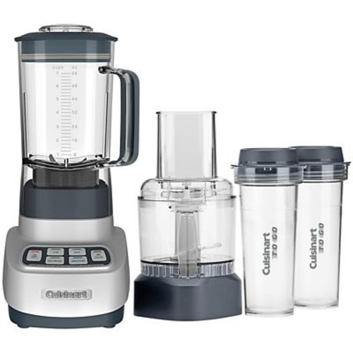 Cuisinart VELOCITY Ultra Trio 56 oz. Blender/Food Processor, Gun Metal (BFP-650GM)