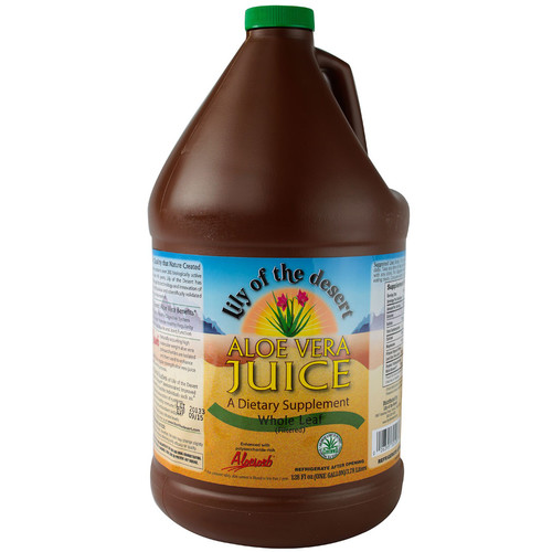 Lily of the Desert Aloe Vera Juice Whole Leaf -- 128 fl oz