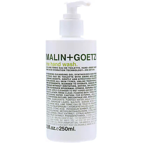 MALIN+GOETZ Lime Hand + Body Wash 250ml