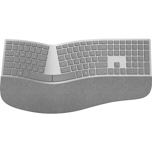 Microsoft - Surface Ergonomic Keyboard - Silver