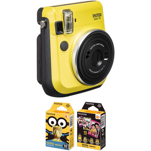 Fujifilm - Instax Mini 70 Instant Film Camera - Yellow