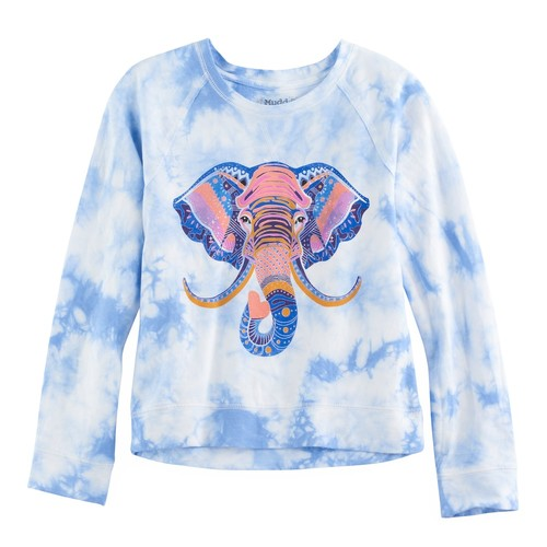 Total Girl Graphic Sweatshirt - 6-16 and Plus