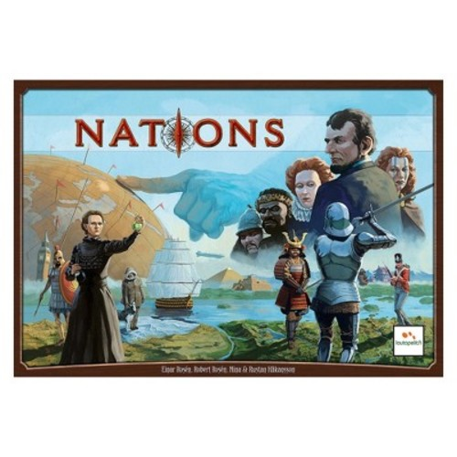 Asmodee Nations Board Game