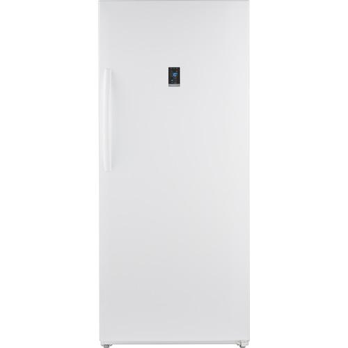 Insignia - 21.01 Cu. Ft. Upright Wi-Fi Convertible Freezer/Refrigerator - White